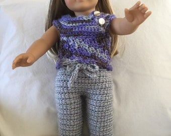 American Girl Doll Pants and Sweater