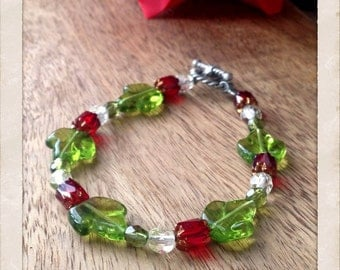 Green Leaves Bracelet
