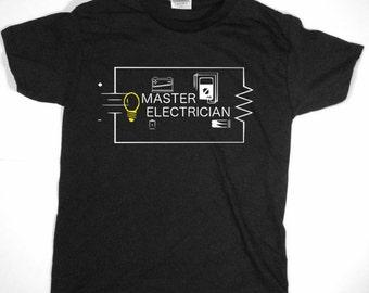 Master Electrician Tshirt