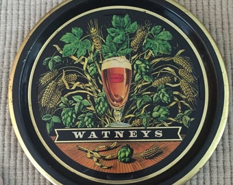Watneys collectible serving pub tray - set of two