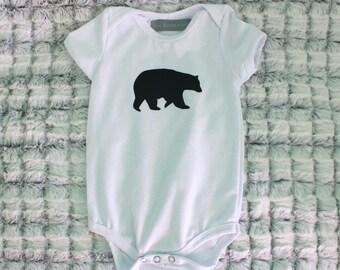 Black Bear Onesie/T-Shirt