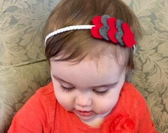 Hearts headband