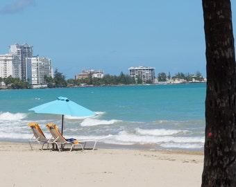 Just Needs You!     8x10 San Juan Puerto Rico Beach Photo