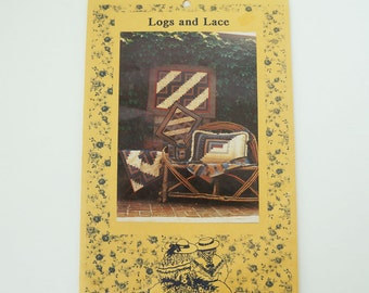 Vintage Kindred Spirits Logs and Lace Quilt Pattern