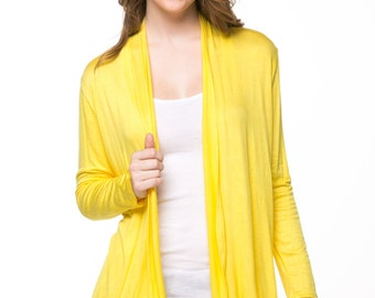 Yello Open Cardigan