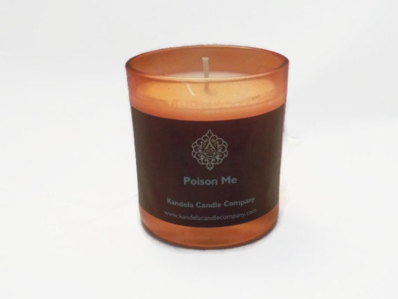Poison Me Scented Candle in 7 oz. Straight Tumbler