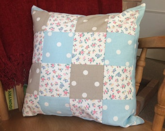 Cath Kidston patchwork cushion cover