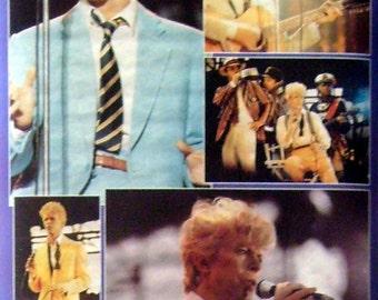 David Bowie 24x36 Purple Collage Poster 1984