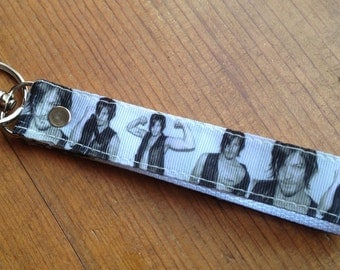 The Walking Dead / Daryl Dixon / Norman Reedus Inspired Wristlet Lanyard / Key Chain