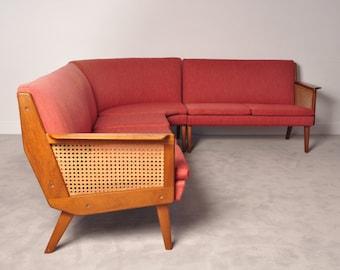 Danish teak  sectional sofa