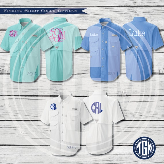Monogram toddler fishing shirt columbia by for Baby fishing shirts columbia