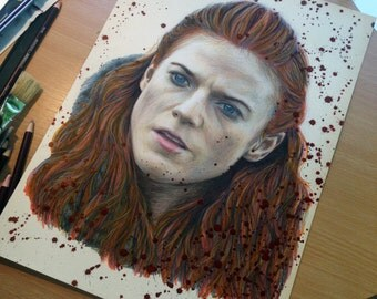 Ygritte drawing