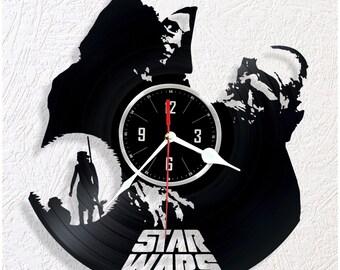 Vinyl wall clock STAR WARS