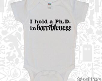 Ph.D. in Horribleness bodysuit