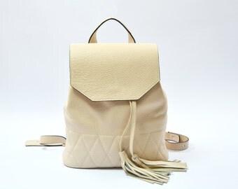 Womens backpack, handmade backpack, leather rucksack, womens leather bag, vintage backpack, leather backpack, leather purse, back pack