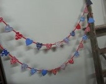 Small Heart Bunting