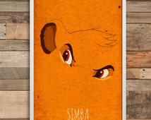 Lion King print Simba Disney Lion King Party lion king birthday hakuna matata baby lion king, lion king poster Simba banner lion king simba