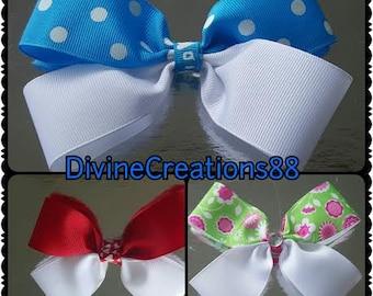 3 Piece Hair Bow Set