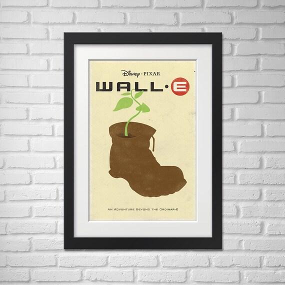Wall-E Movie Poster - Illustration / Wall-E Movie Poster/ Wall-E