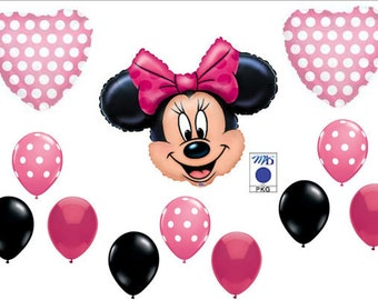 Disney's Minnie Mouse balloon bouquet set party birthday decoration new for girls
