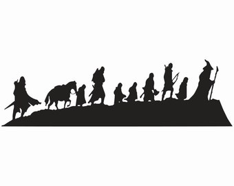 Lord of the Rings - Fellowship - Decal