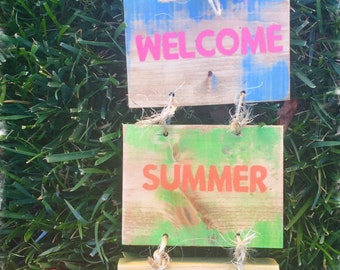 Welcome summer time.
