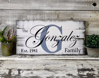 Handmade home decor signs rustic whitewashed hand made hand painted custom wood signs custom paint family wood sign stained wood sign