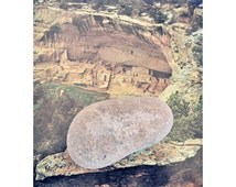 Stone Axe ~ Hammer Stone Pictographs Native American Indian Sandstone Tool Artifact Relic Desert Developmental Period c. 1,600 - 700 B.P.