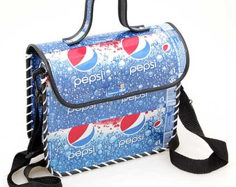 Recycled Tin Can Shoulder Bag (Pepsi, Coca Cola, Diet Coke, Schweppes, Heineken, Tiger Beer) Soda can / Pop can