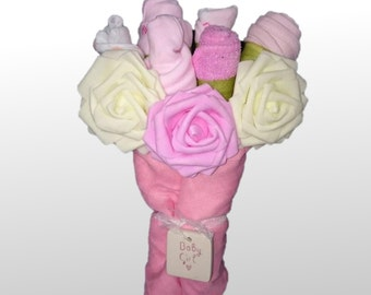 Small Six Item Baby Clothing Bouquet
