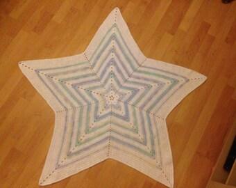 Crochet Star Blanket.