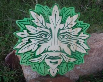 Greenman Wall Plaque