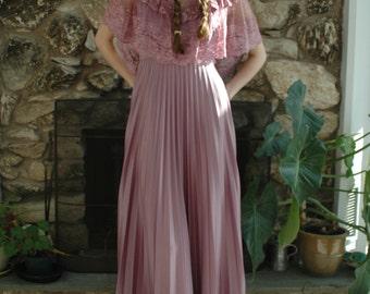 Lilac purple prairie Dress