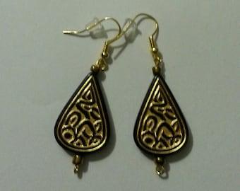 Black Rain Earrings