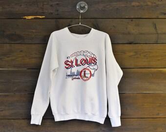 1988 St. Louis Cardinals Baseball Sweatshirt // Large