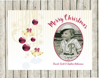 Custom Photo Christmas Cards, Printed Photo Christmas Cards, Pretty Photo Christmas cards, Family Photo Christmas Cards, Custom Holiday Card