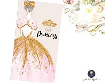 Princess Planner Dashboard, Personal Dashboard, A5 size dashboard in 5mil Lamination