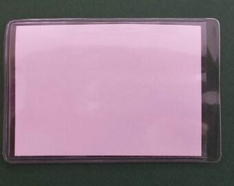 Vinyl Business Card Holder with Magnet (10)