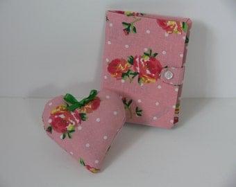 Pin Cushion and Needle Case Set