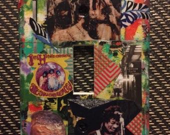 Jimi Hendrix collage commemorative