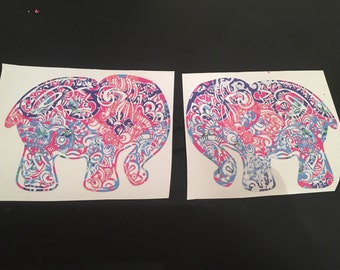 Lily inspired elephant