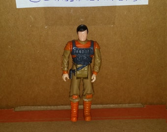 1985 Kenner M.A.S.K. figure of Bruce Sato from the Rhino Truck