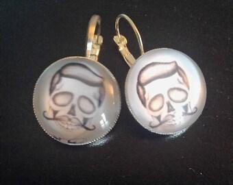 """Earrings """"death"""