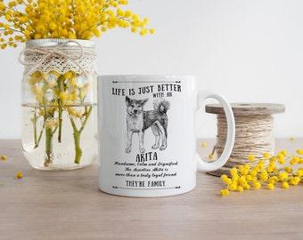 Akita Mug ~ Perfect Gift can be personalised