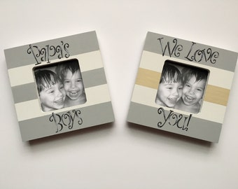 3x3 Picture Frame Etsy