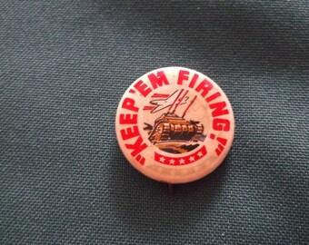 Vintage War Era Whitehead Hoag Pin