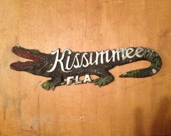 Vintage alligator Kissimmee fl.