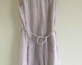 1950's Vintage house dress, size large