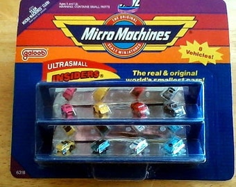 8 - Micro Machines INSIDER mini vehicles  / sealed in pack