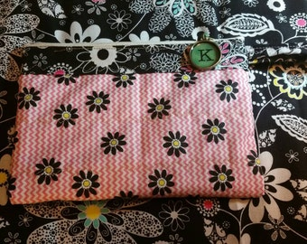 Wristlet - zippered lined bag with strap